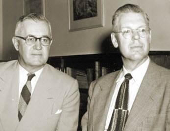 University President Olpin & Kistler