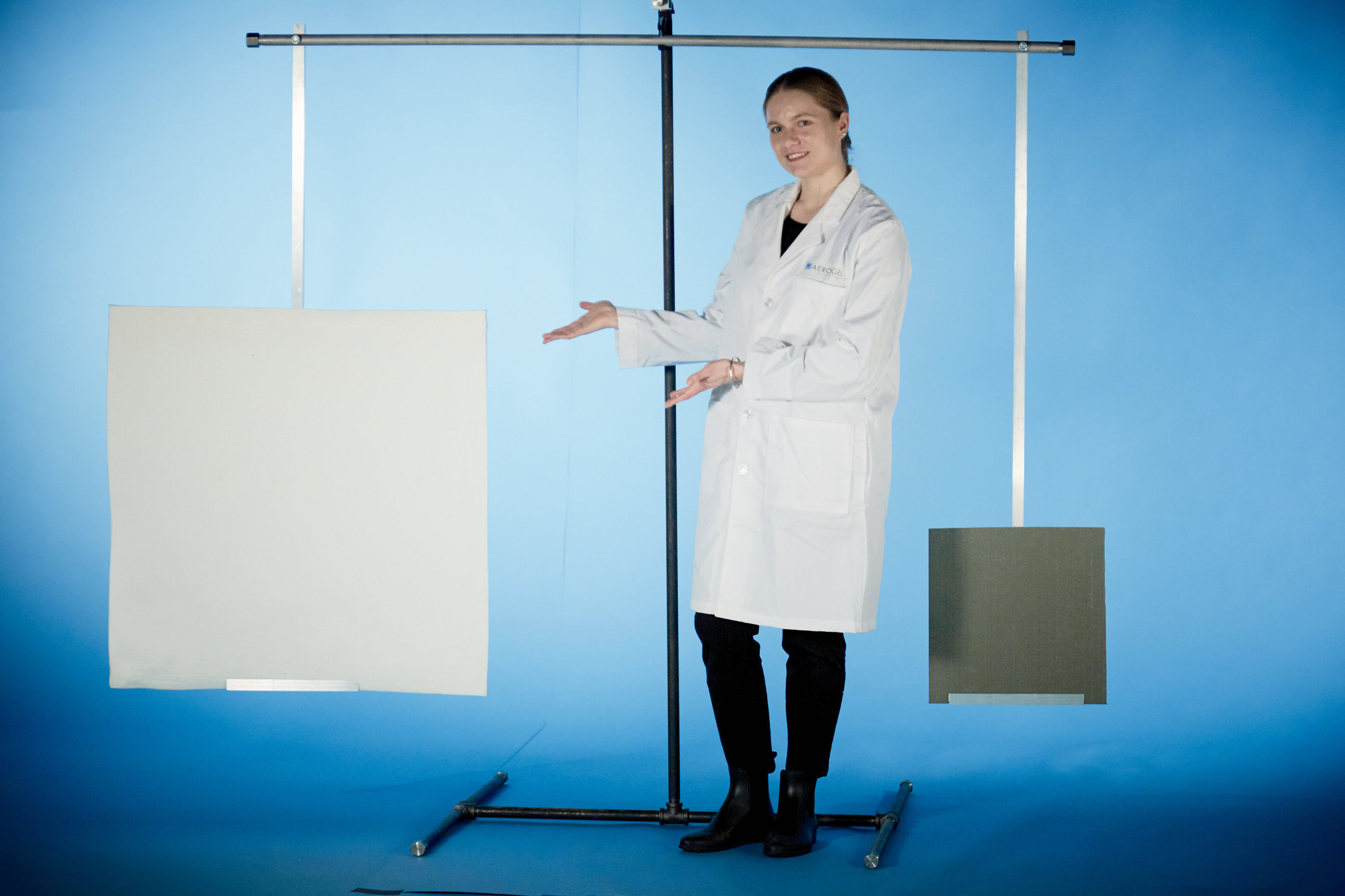 Picture of World's Largest Aerogel