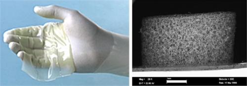 Artificial Skin Which Can Be Made by Supercritical Drying of Collagen-Glycosaminoglycan Gels